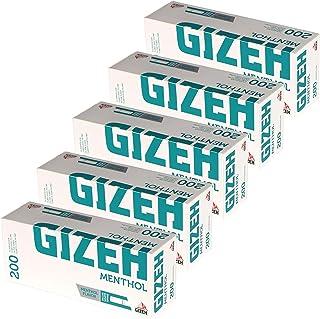 Gizeh Cartuchos de filtro, punta de mentol, 5x 200