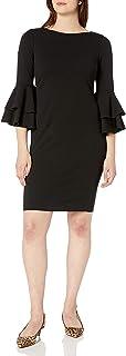 Calvin Klein Women's Tiered Bell Sleeve Dress