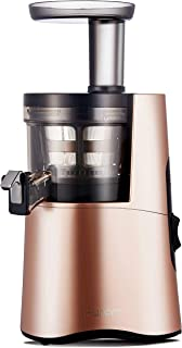 Hurom H-AA Slow Juicer, Rose Gold (Renewed)