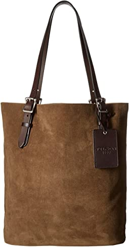 Tall Rugged Suede Tote