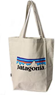 [patagonia(パタゴニア) ] トートバッグ Market Tote バッグ 鞄 ロゴ ホワイト キャンバス トラベル キャンプ 登山 59280 PLBS FA19 [並行輸入品]