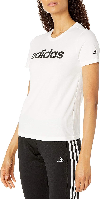 adidas Women's Loungewear Essentials Slim Logo Tee