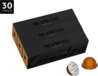 Nespresso VertuoLine Coffee, Caramelizio, 30 Capsules