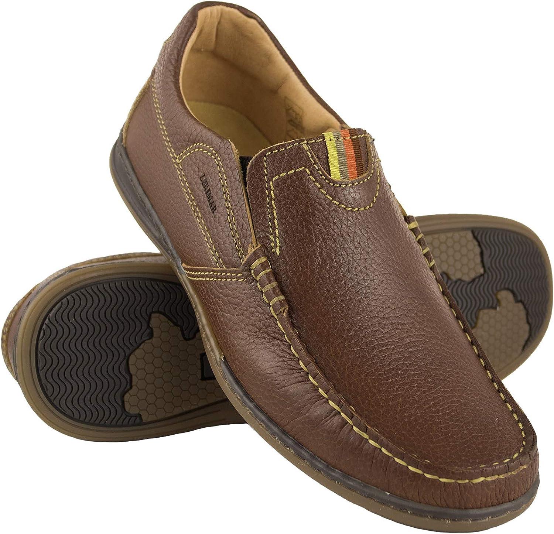Nautische Schuhe Mann Zerimar Leder Bootsschuhe f/ür Herren Mokassins Mann Nautische Herren Sommer