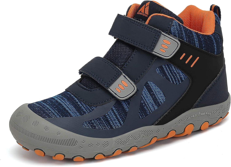 Boy's Girl's San Francisco Mall Hiking Boots Anti-Slip Water Resistant Sneaker Fresno Mall Kids
