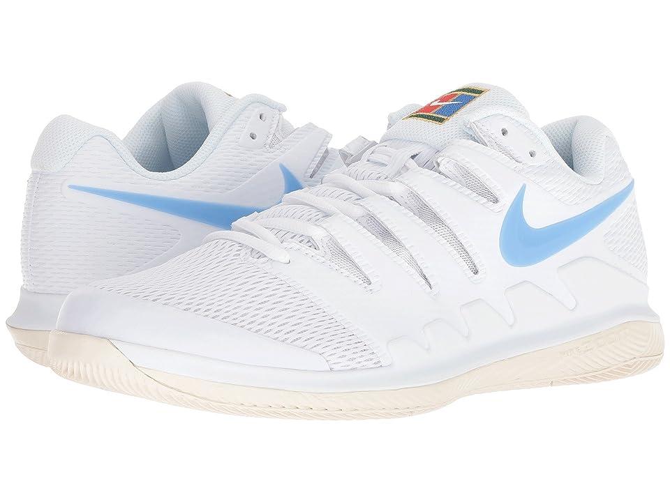 Nike Air Zoom Vapor X (White/University Blue/Light Cream) Men