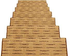 HAIPENG Non Slip Stair Carpet Treads Pads Mats Self Adhesive Staircase Rugs Home, 12mm, 5 Sizes, 4 Colors (Color : A-100x2...