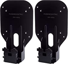 HumanCentric VESA Mount Adapter (2 Pack) for Dell SE2416HX, SE2717HX, SE2717H, S2216M, S2216H, SE2716H, SE2216H, S2817Q, SE2417HG, S2316M, S2316H, SE2416H, SE2717HR, and More [Patented]