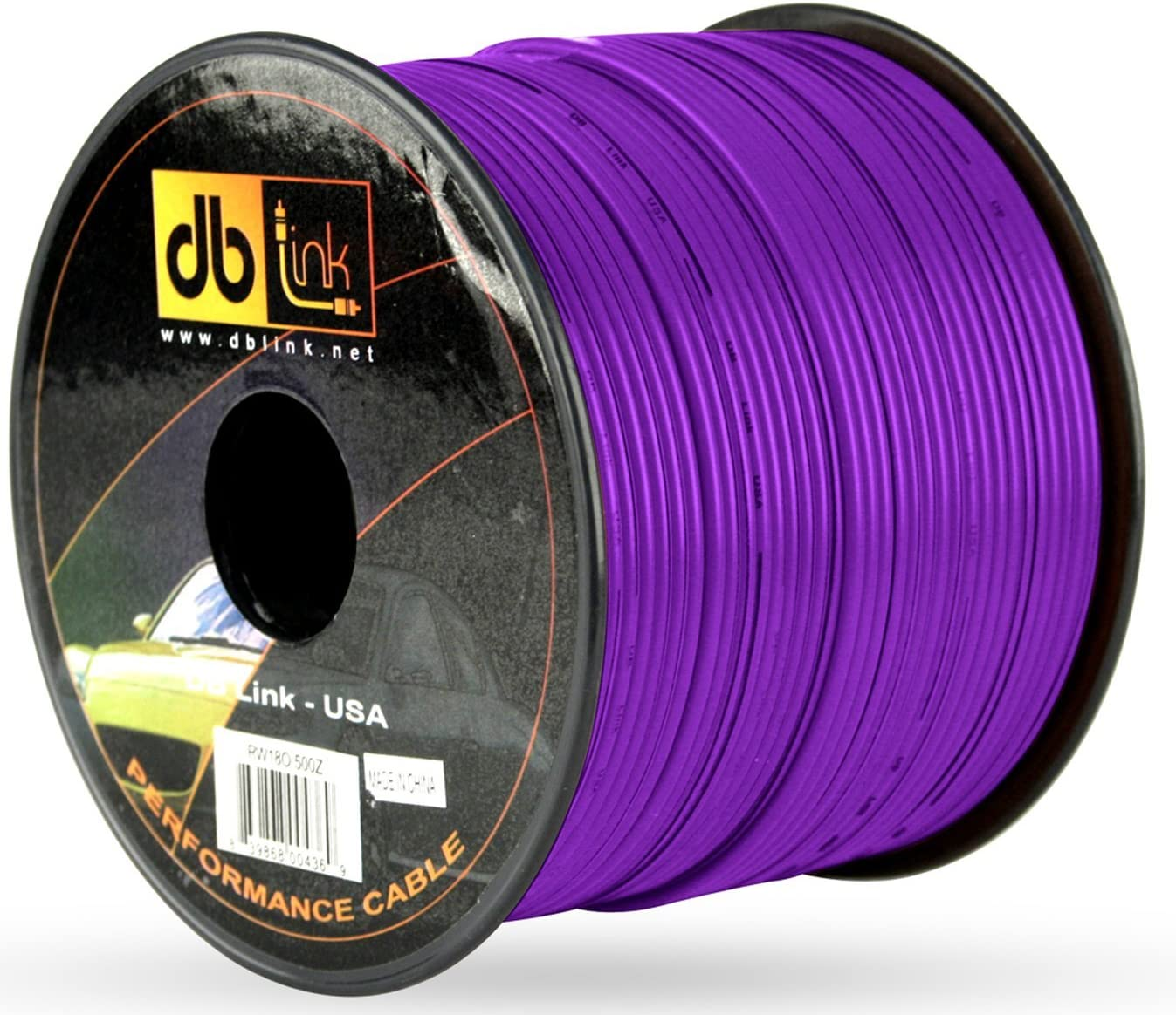 Purple Db Link RW18P500Z Primary Wire Spools