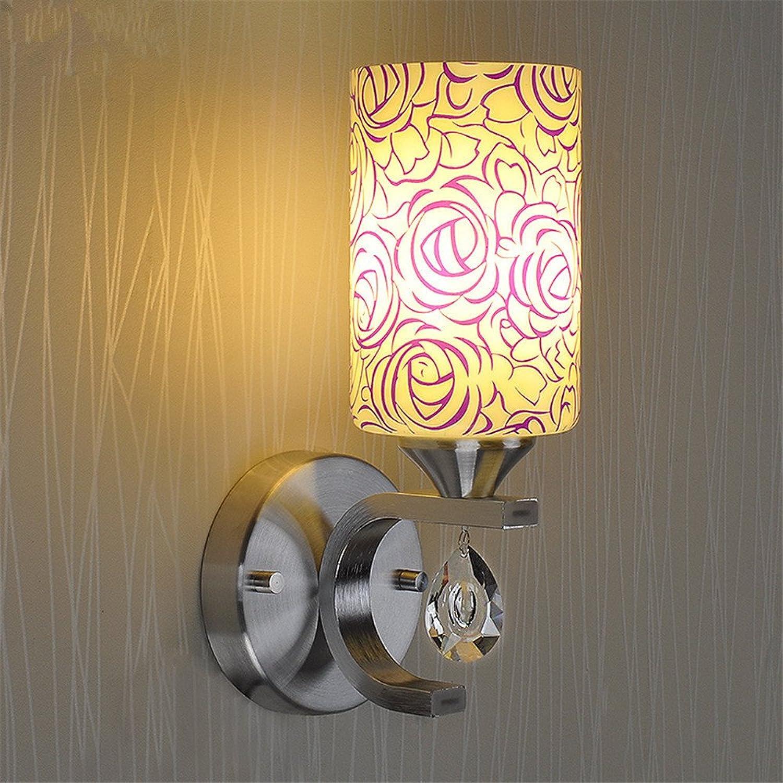 StiefelU LED Crystal Wand Leuchten ein- und doppelwandige Lampe Nachttischlampe Arbeitszimmer mit Schalter off road Korridor geführt.