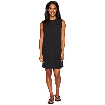 NAU Flaxible Sleeveless Dress (Caviar) Women