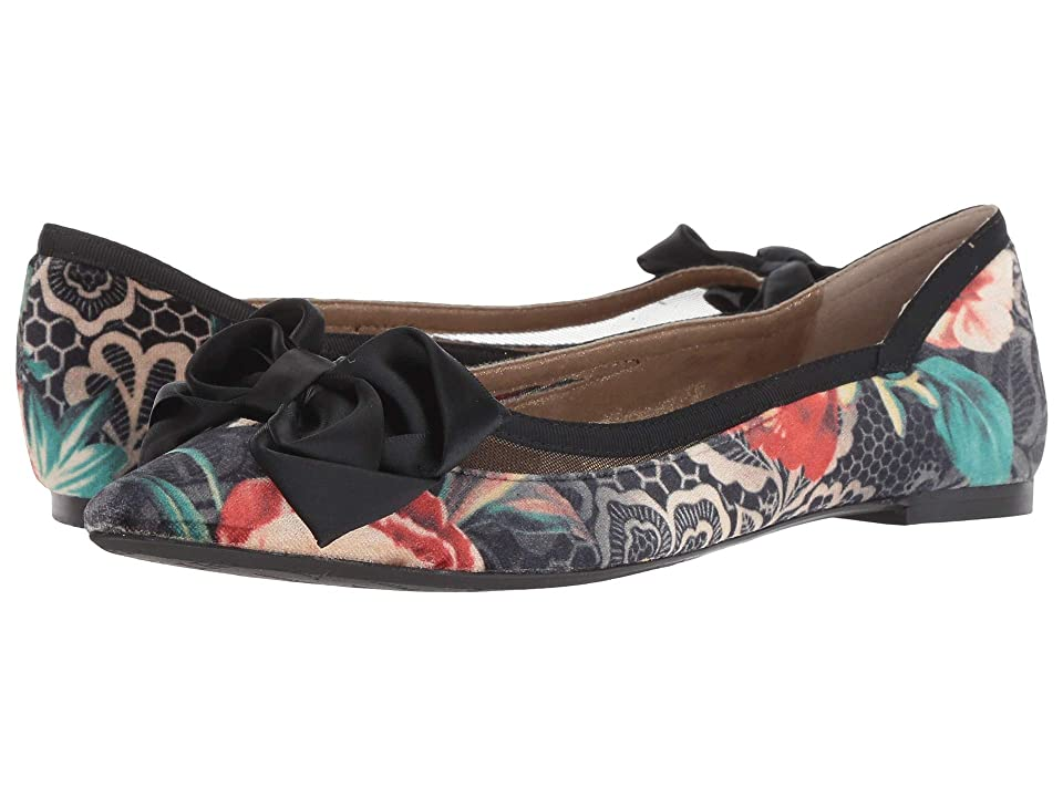 J. Renee Allitson (Black/Taupe/Coral Multi) High Heels