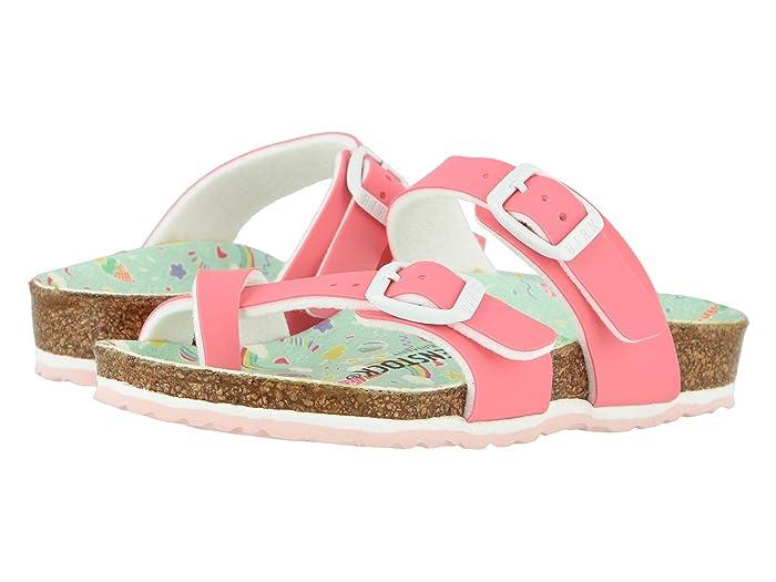 Birkenstock Kids  Mayari (Little Kid/Big Kid) (Candy Pastel Pink Birko-Flortm) Girls Shoes