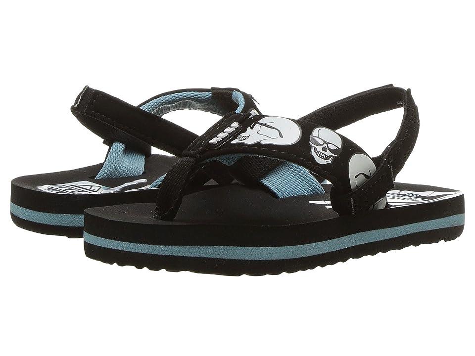Reef Kids Ahi Color Change (Infant/Toddler/Little Kid/Big Kid) (Blue Skulls) Boys Shoes