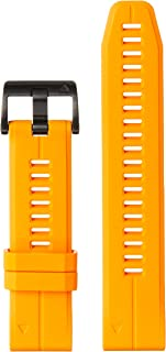 Garmin QuickFit 22 Bracelet de montre en silicone Orange