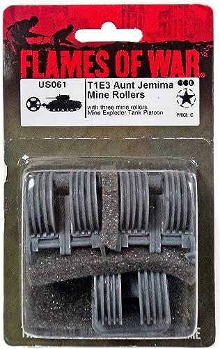 tiendas minoristas Llamas Llamas Llamas De La Guerra USA T1E3 Aunt Jemima Mine Rodillos (Late guerra, US061)  tomamos a los clientes como nuestro dios