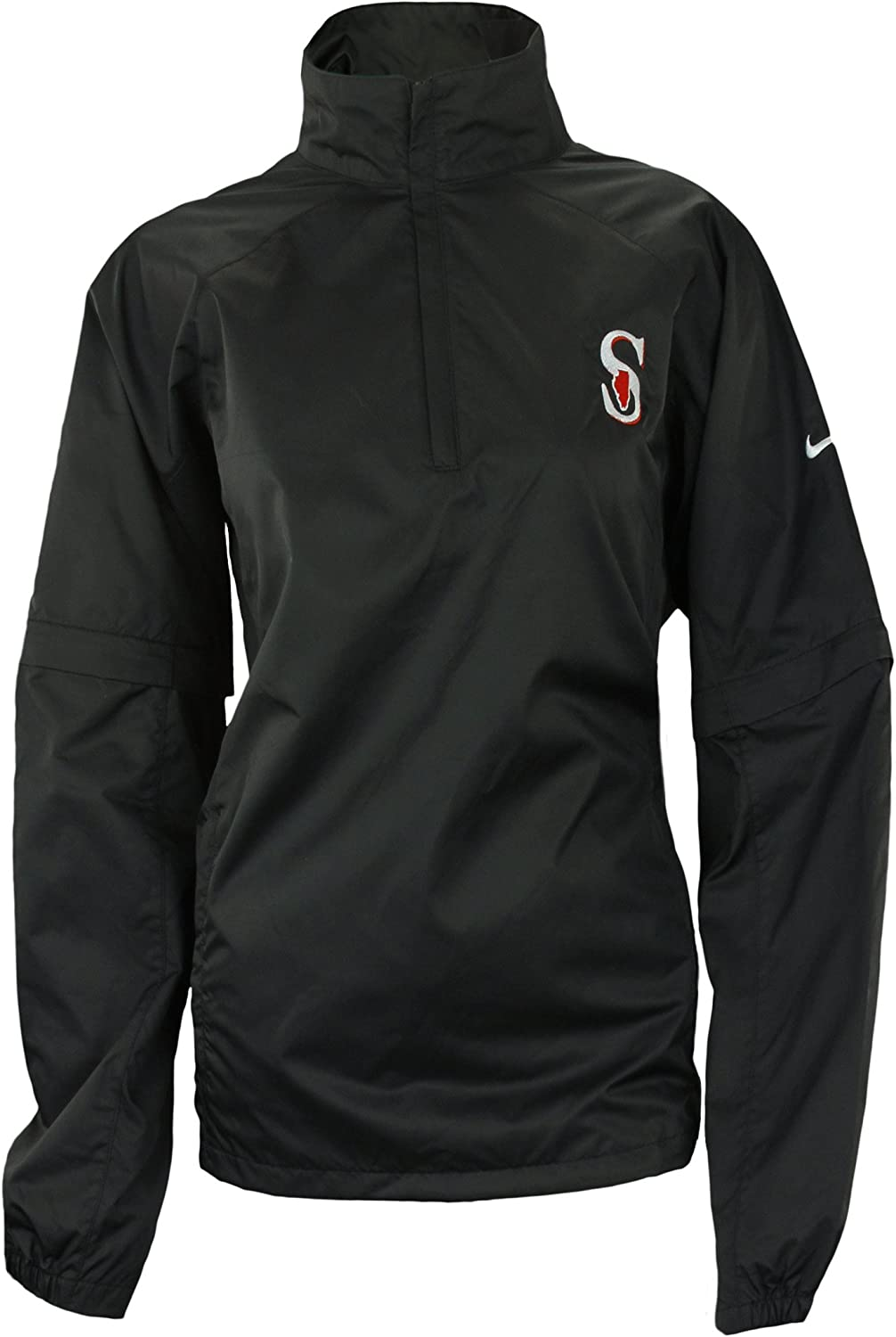 Nike Womens Southern Illinois Black Industry No. 1 StormFit 55% OFF Jacket