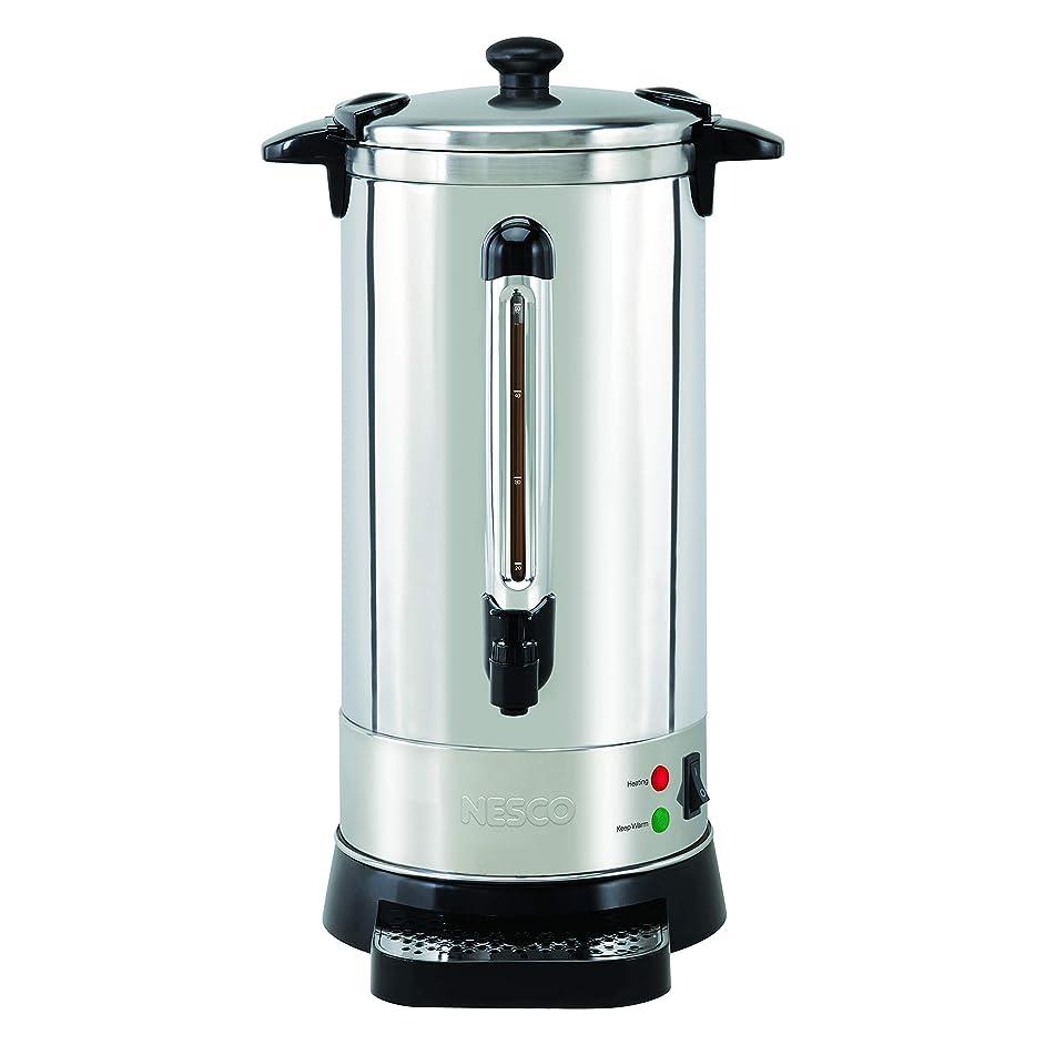 NESCO CU-50, Professional Coffee Urn, 50 Cups, Stainless Steel (Renewed)