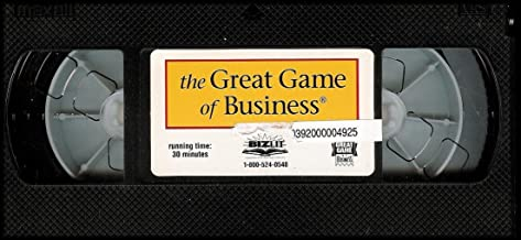 The Great Game of Business (Origins of Open Book Management: Jack Stack and The SRC) VHS VIDEO
