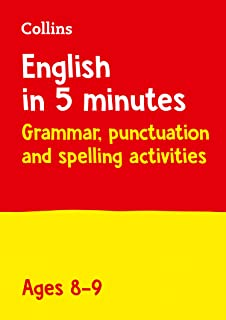 English in 5 Minutes a Day Age 8-9: Ideal for Use at Home