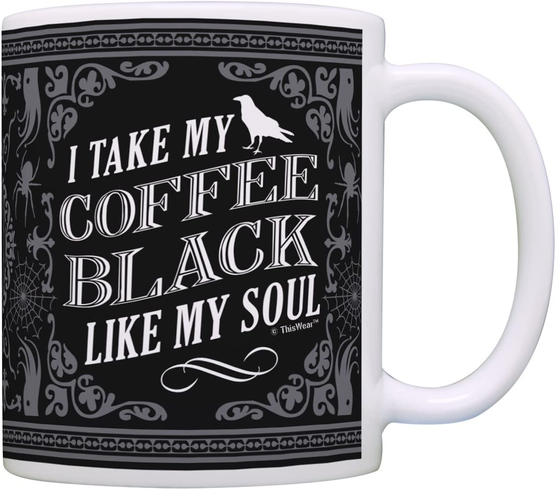 Home & Kitchen Glitter Drips 15oz Coffee Mug Funny Dark Humor For ...