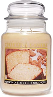 A Cheerful Giver Almond Butter Pound Cake Jar Candle, 24-Ounce