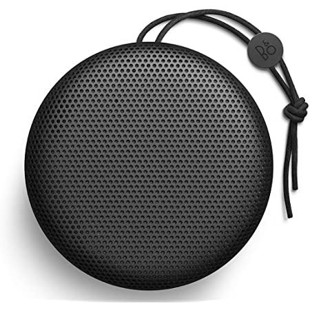 B&O PLAY A1 Portable Bluetooth Speaker, Black, One Size