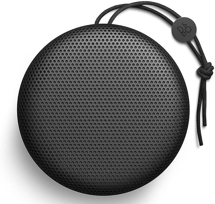 Altoparlante portatile bluetooth bang & olufsen beoplay a1 con microfono, nero 1297826