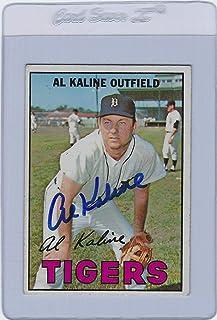 Al Kaline Signed Auto 1967 Topps #30 Baseball Card Autograph - Baseball Slabbed Autographed Cards
