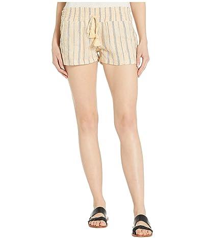 Roxy Oceanside Yarn-Dyed Shorts (Sahara Sun Playa Stripe) Women