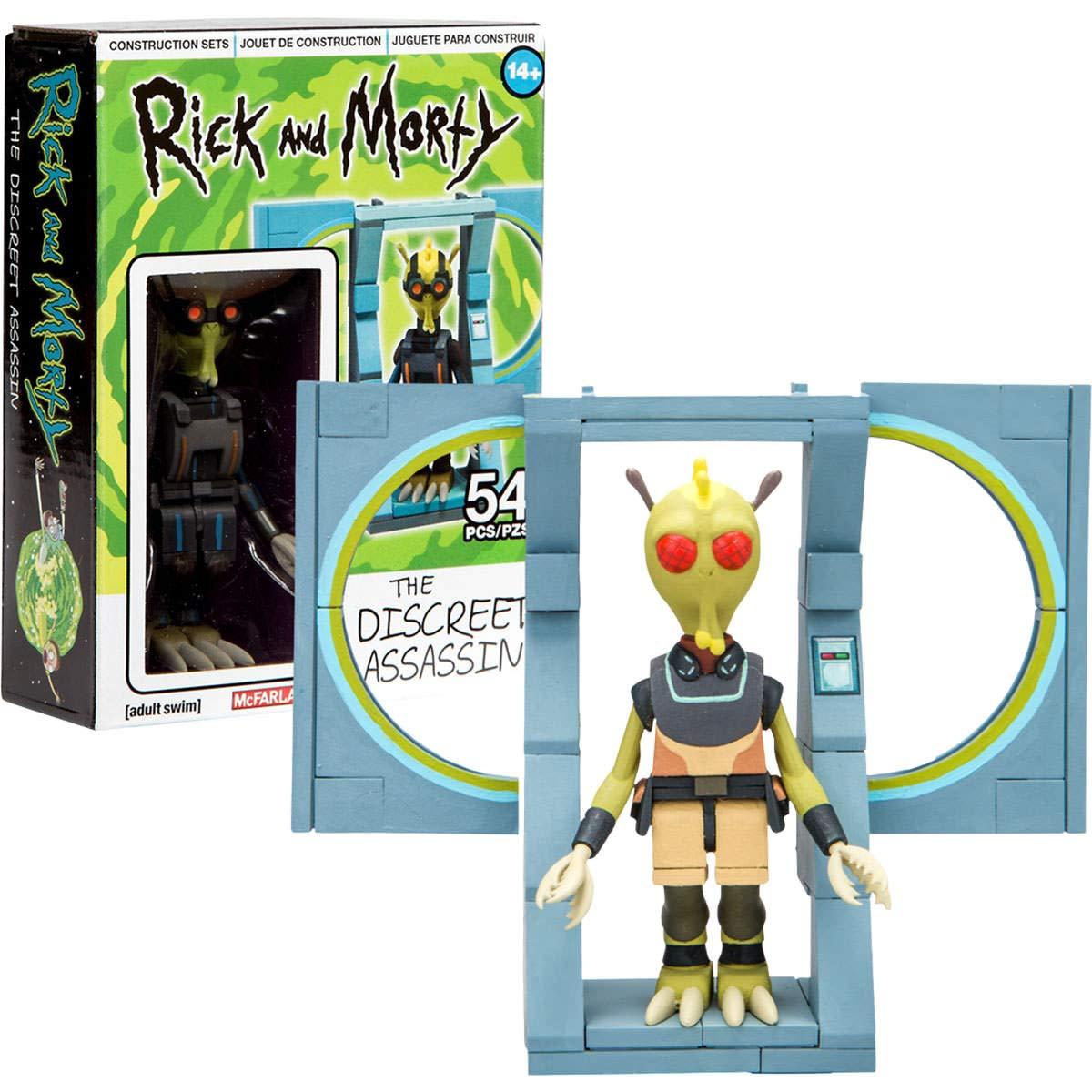 Heo Set de construcción Microondas Rick & Morty, Multicolor (McFarlane 0787926128505): Amazon.es: Juguetes y juegos