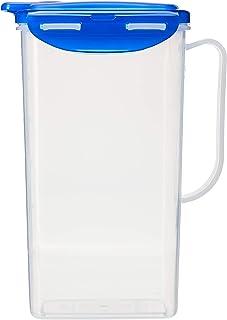 Lock&Lock Aqua Water Jug with Flip Top Lid, 1.5 Litres, Semitransparent