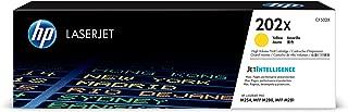 HP 202X | CF502X | Toner Cartridge | Yellow | High Yield