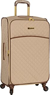 Anne Klein Expandable Lightweight Spinner Luggage Suitcase