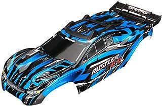 Traxxas TRA6718X Body, Rustler 4X4, Blue