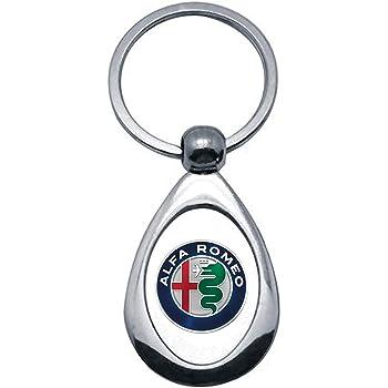La Ruotante 1 Portachiavi Alfa Romeo Giulietta Giulia Stelvio 159 Acciaio Cromato