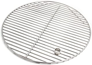 """Hongso SCG195 19.5"""" BBQ Stainless Steel Round Cooking Grates/Cooking Grid for Kamado Ceramic Grill, 20 inch Grill Grate"""