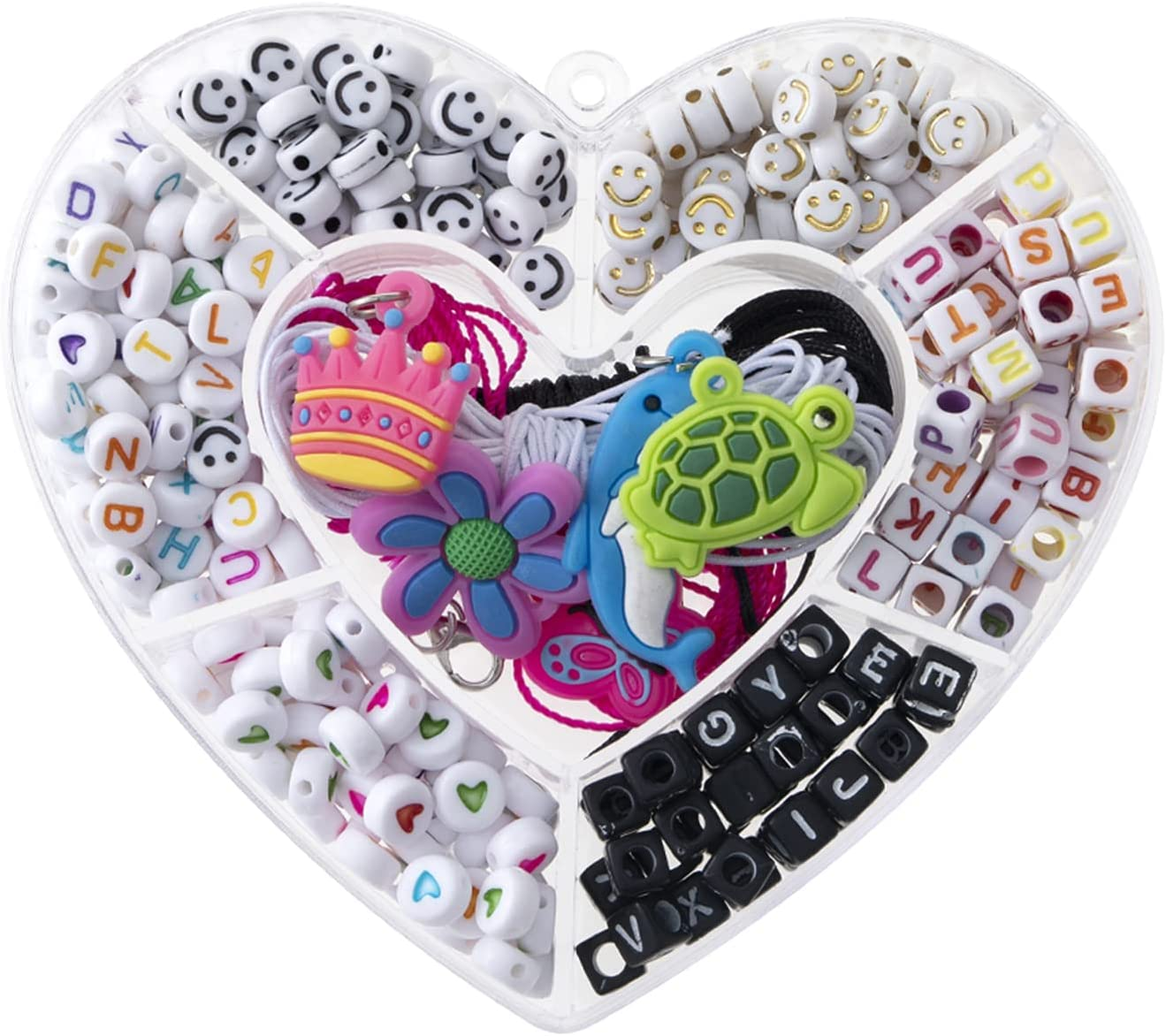 1000PCS Beads for Jewelry Making half Alphabet Seed L Glass Kit Limited price sale