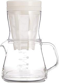 曙産業 コーヒーサーバー ストロン 500 2WAY ドリッパーセット ホワイトドリップコーヒー/水出しコーヒー兼用