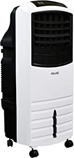 NewAir Portable Evaporative Air Cooler with Fan & Humidifier, Indoor Tower Fan in White, AF-1000W