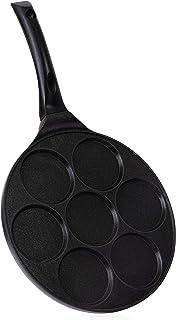 INTIGNIS Keramische antiaanbaklaag, 26 cm, cooler handvat, geschikt voor inductie, 7 eieren, koekenpan, mini-pannenkoek, m...