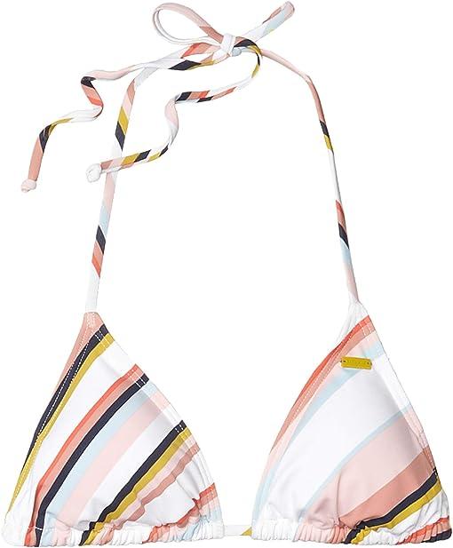 Bright White/Oriental Stripe