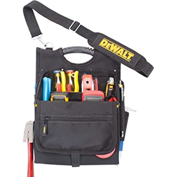 Large Space Tool Bag Zippered Storage Pocket Electricians Pouch Pliers Package