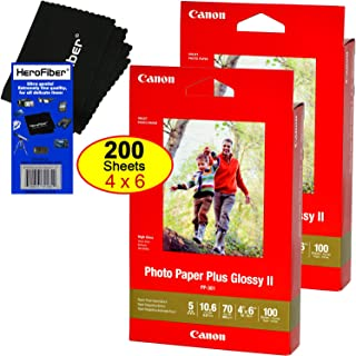 Canon Photo Paper Plus Glossy II, 4 x 6