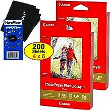 Canon Photo Paper Plus Glossy II, 4 x 6