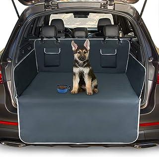 Toozey Kofferbakbescherming voor hond - Universele Antislip Autolaars Hondendeken met Zijbescherming en Bumperbescherming,...