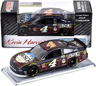 Lionel Racing Kevin Harvick 2019 Busch Flannel NASCAR Diecast Car 1:64 Scale