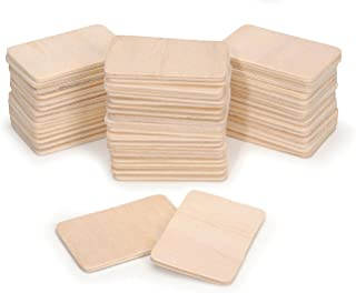 Darice Natural Wood Pieces, Value Pack (100 Pieces)