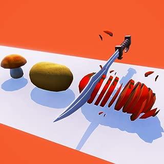 Fruit Perfectly Chop Up - Flippy Knife Slicer