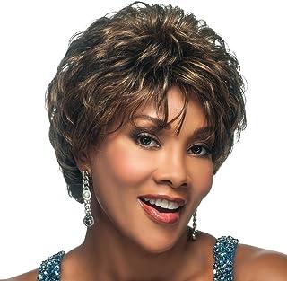 Vivica A. Fox H209-V Premium Human Hair, PS Cap Wig in Color HF5618